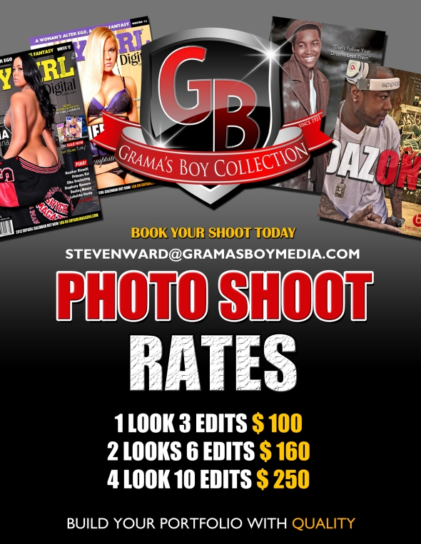 Wanna Build Your Portfolio Book Your Shoot Today with Official ShyGirl Magazine Photographer S.Ward