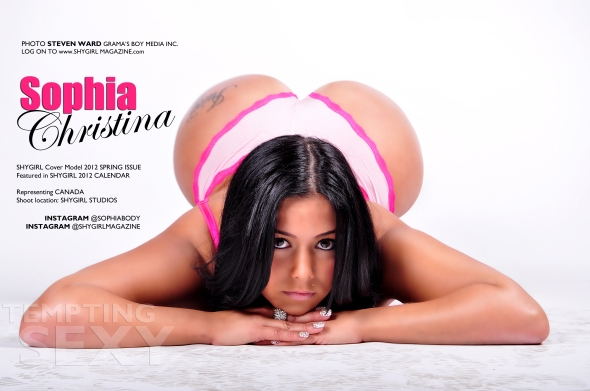 New Photo Of Model Sophia Christina (See Her Whole Spread Now In Our Digital Spring Issue FREE)
