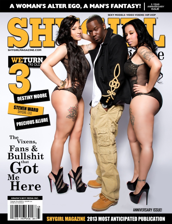 ShyGirl 3 Year Anniversary Digital (Click Cover To View Issue) Cover 1