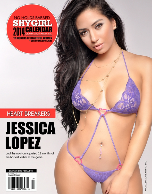 2014 ShyGirl Magazine Calendar ( $10 Click To Purchase )